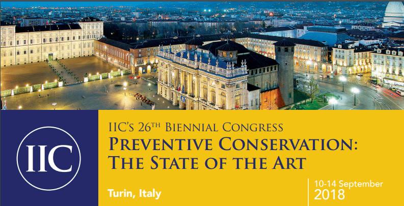 26e Congres de l'IIC Turin Septembre 2018