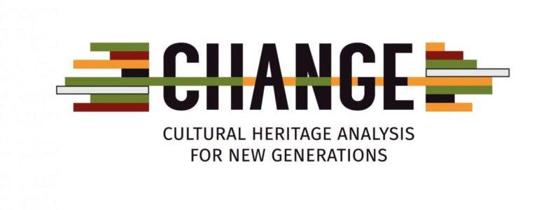 Logo du programme européen CHANGE - Cultural heritage analysis for new generations